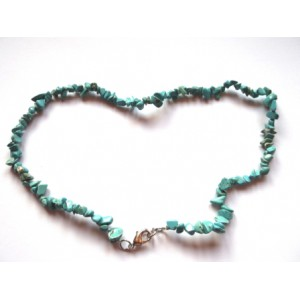 Tyrkys - sekaný náhrdelník